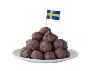 Köttbullar-Svenska